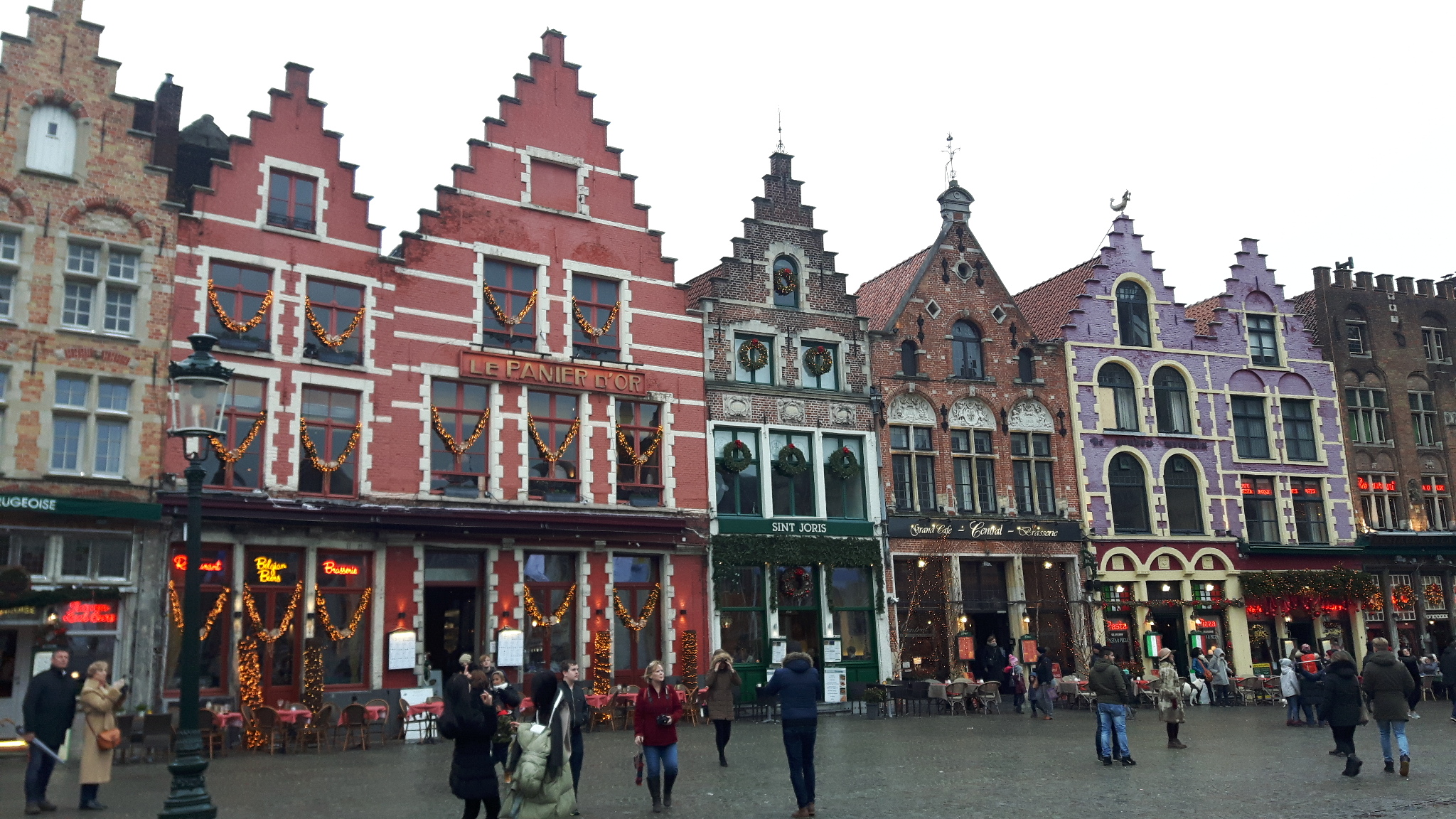 Christmas time in Bruges
