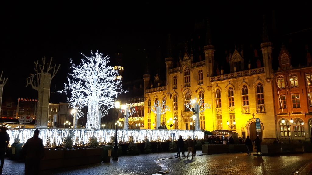 Markt place by night
