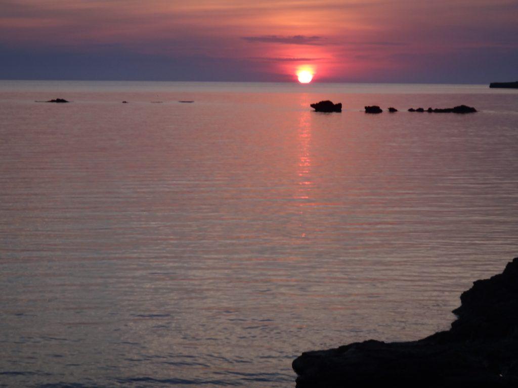 Sunrise at Es Pujols