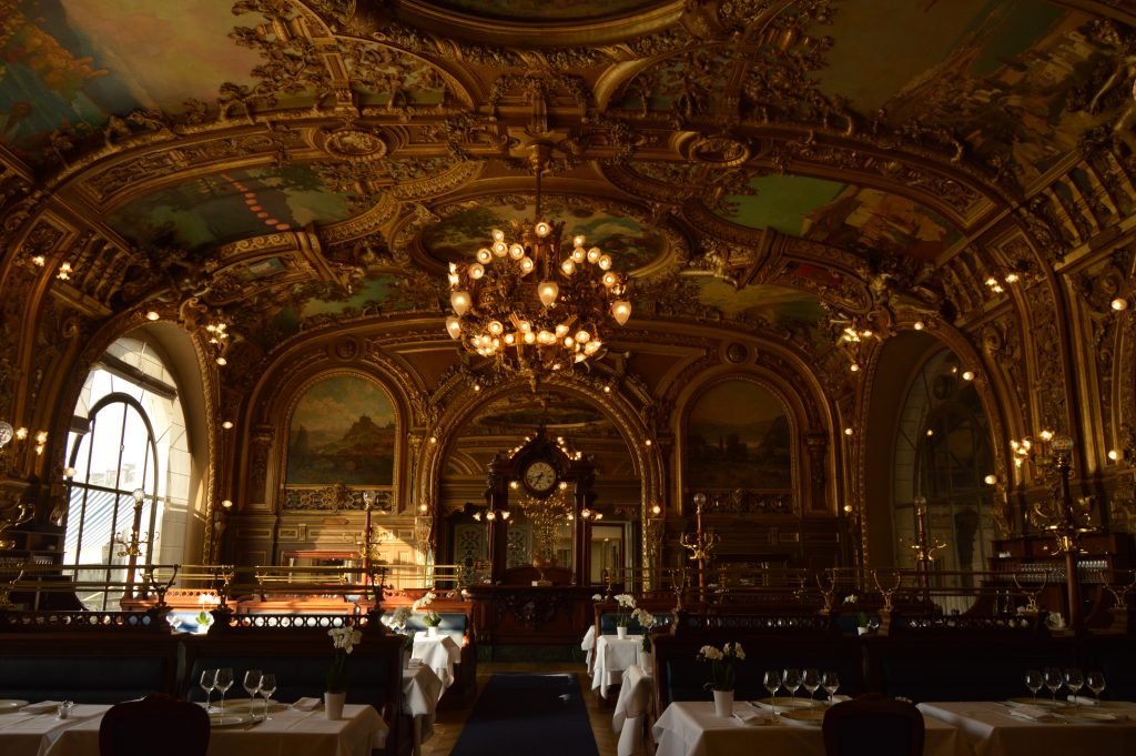 Le Train Bleu restaurant, Gare du Lion