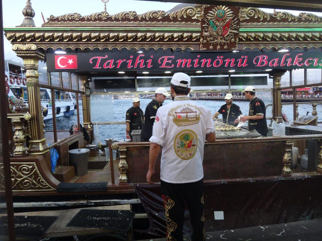 Eminönü boat's