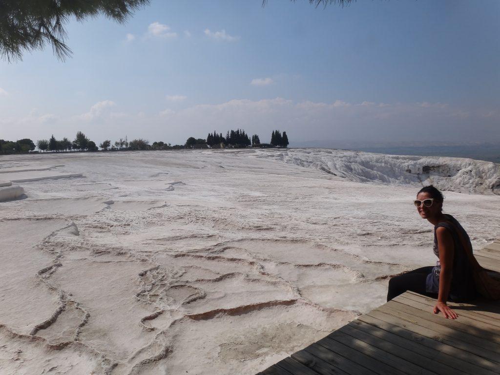 Pamukkale's pool