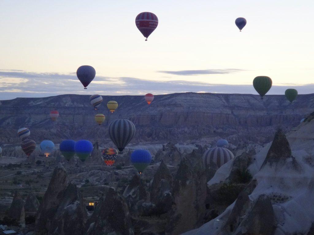 Air balloon show