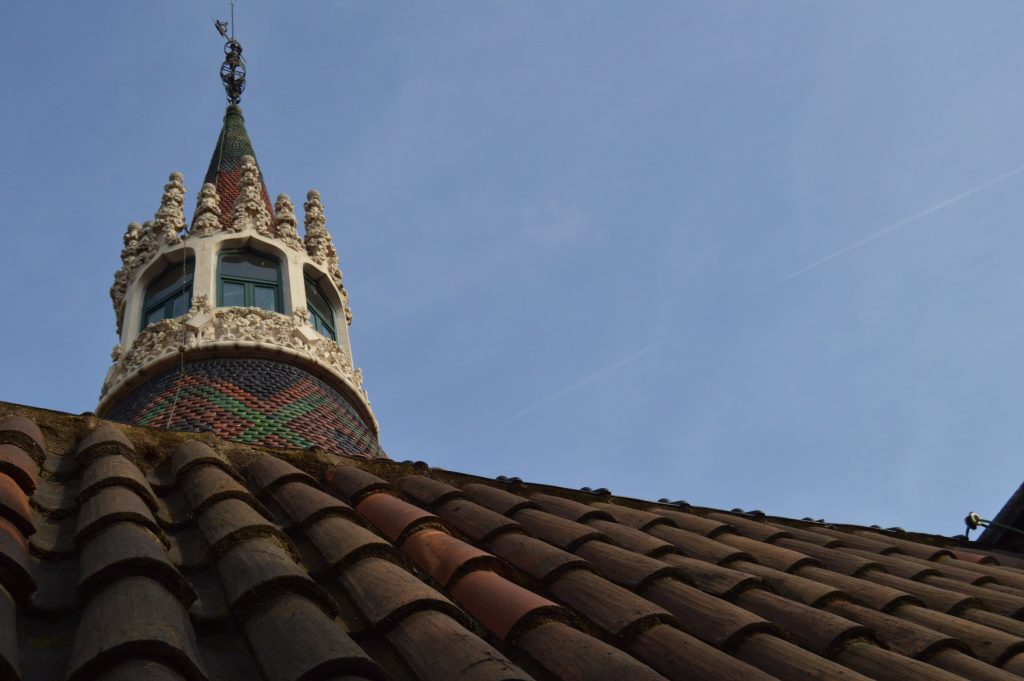 The main tower