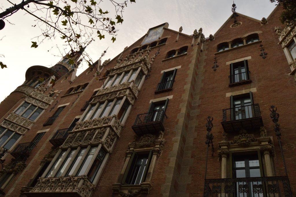 The Av. Diagonal facade
