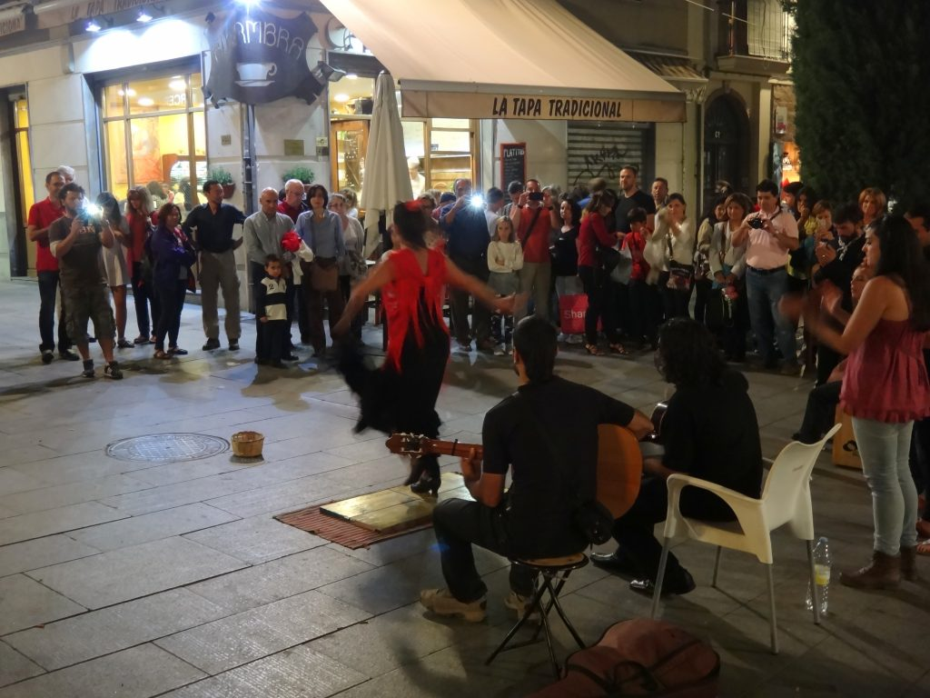 Flamenco Show on the street