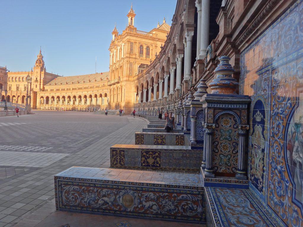 Pl. España, Sevilla