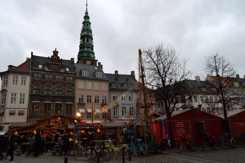 Christmas market at Kongens Nytorv