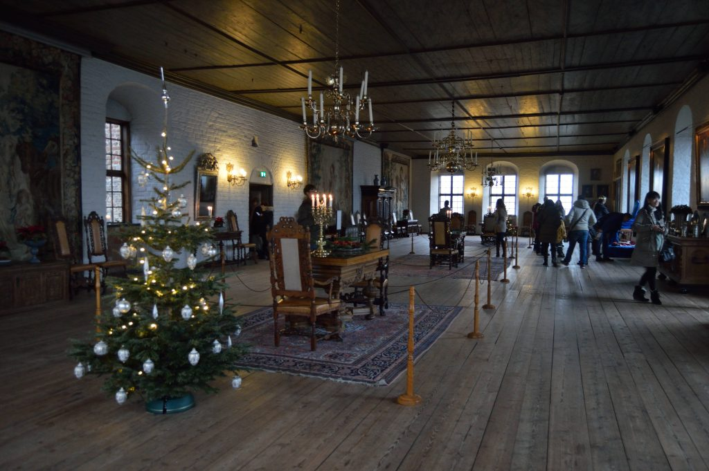 Christmas time in Akershus Castle