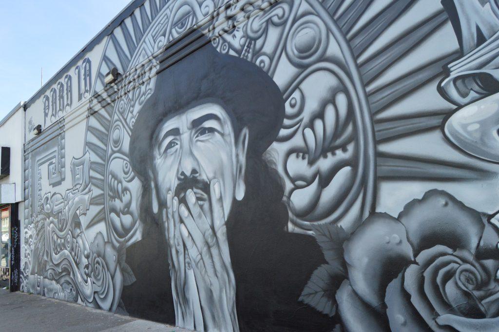 Carlos Santana mural