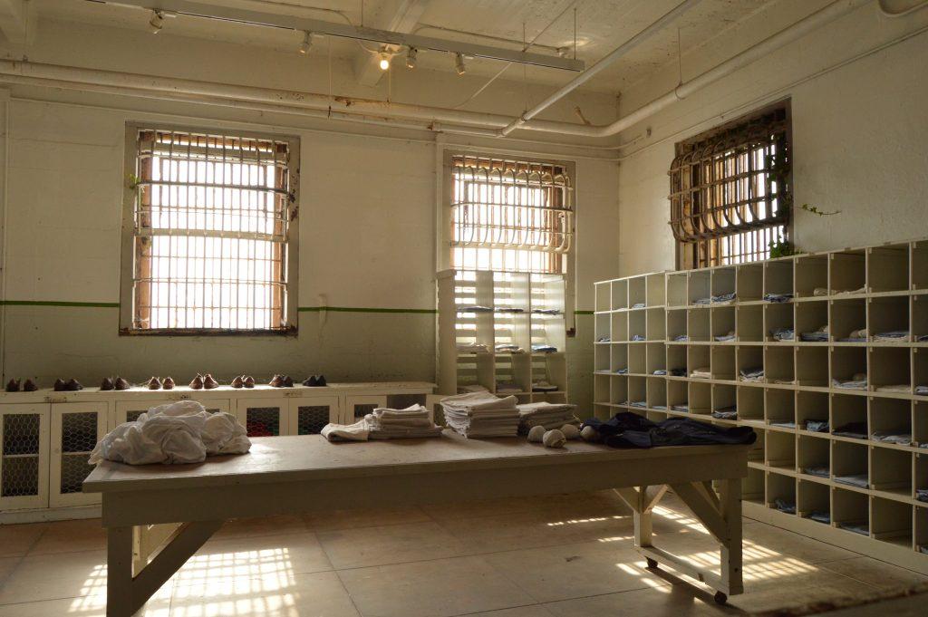 Entrance prison