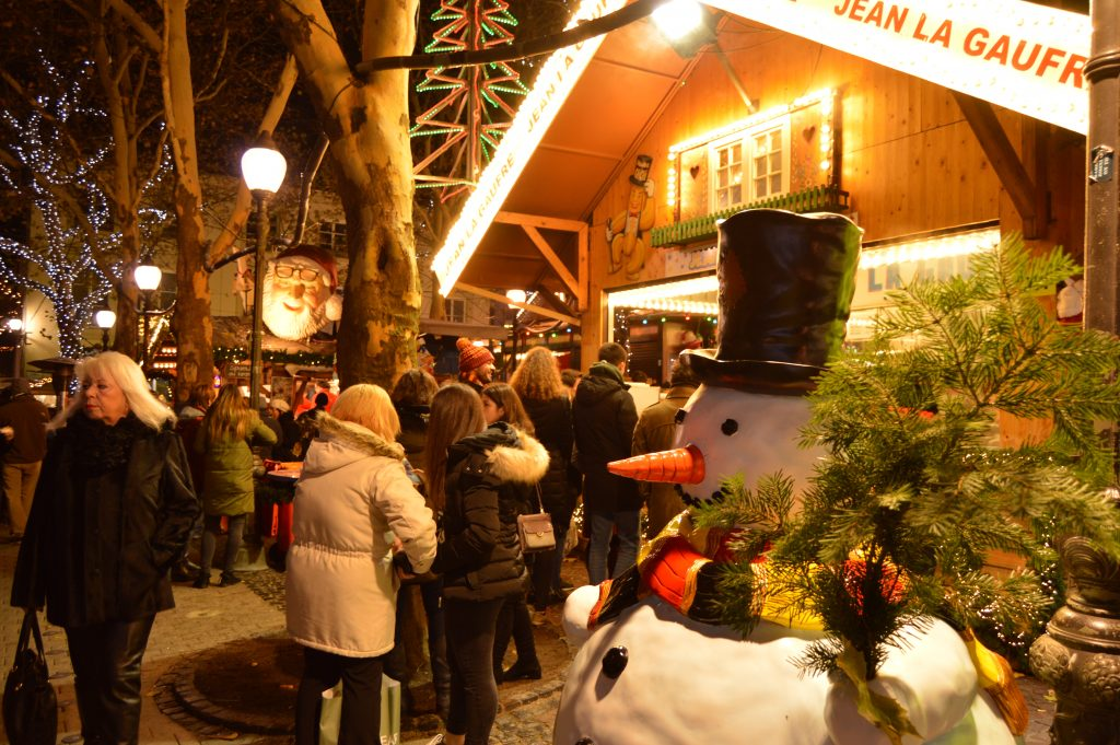 Christmas Market at Place d'Armes