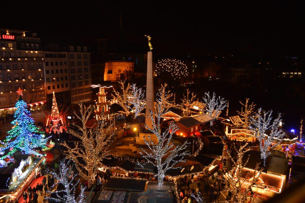 Place de la Constitution Christmas Market's