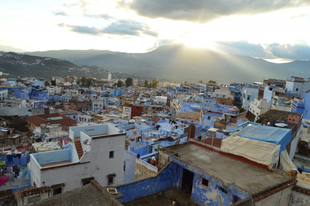 Chefchaouen from Lina Ryad & Spa