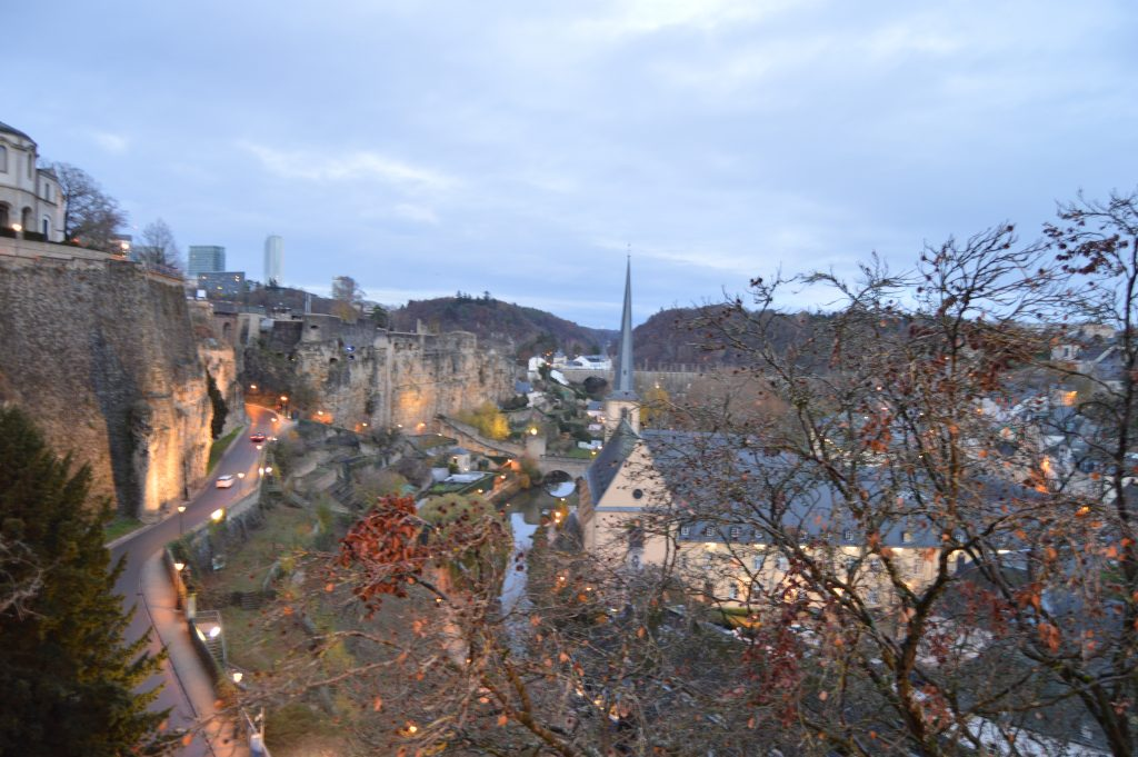 Luxembourg view