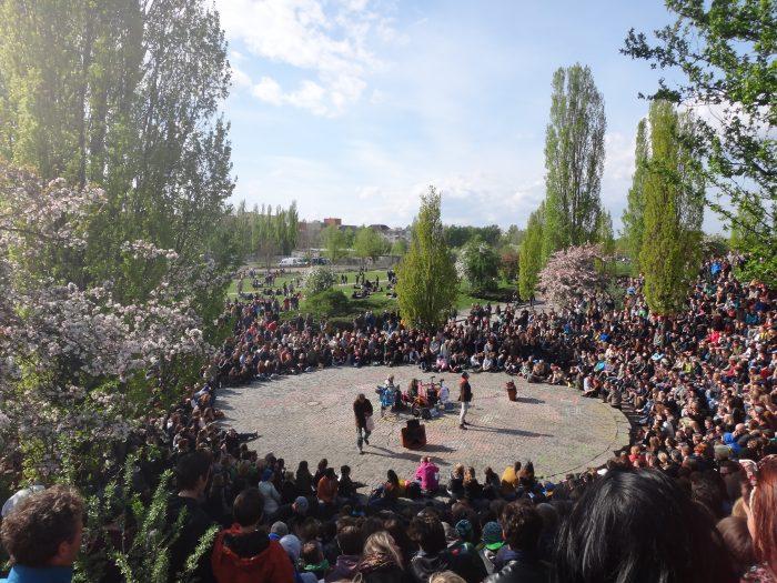 Karaoke of Mauerpark