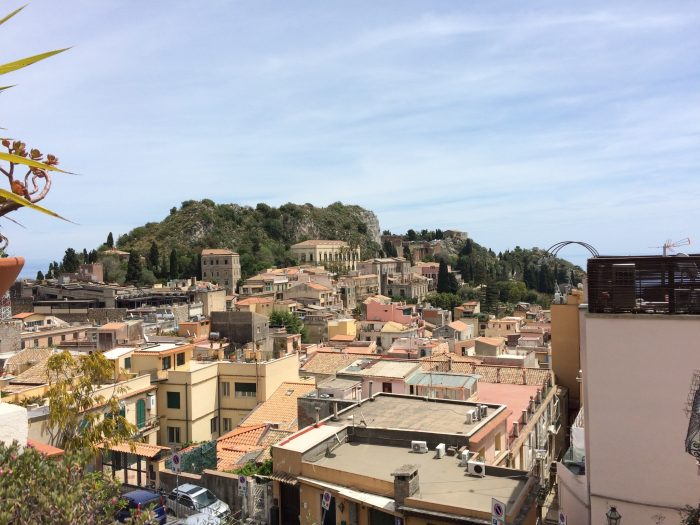 Taormina city
