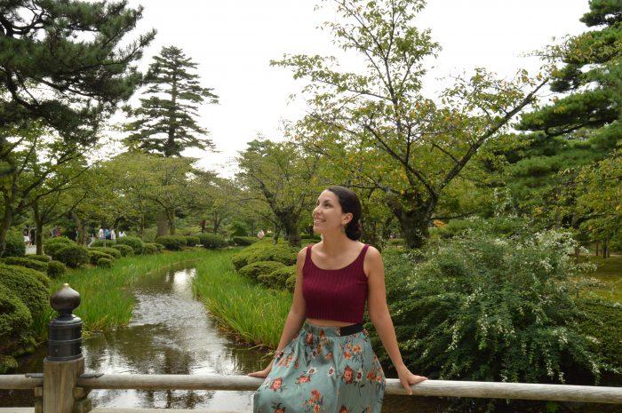 Kenroku-en park