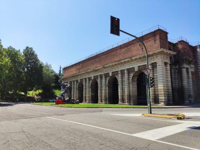 Free parking at Porta Palio