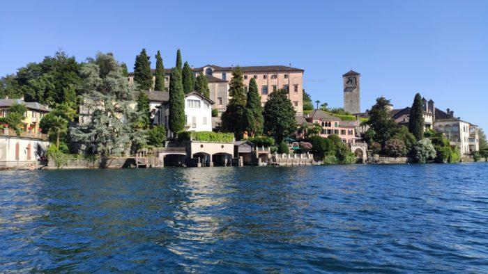 The island of San Giulio