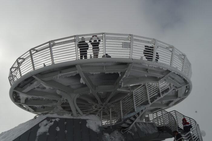 Punta Helbronner terrace