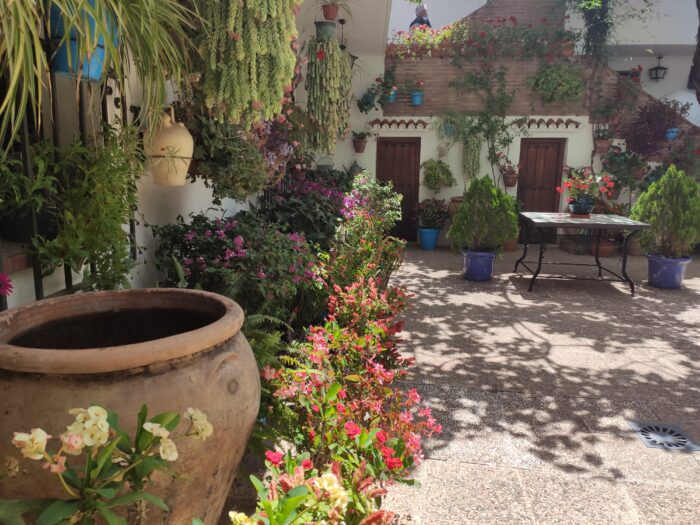 Typical Patio Andaluz