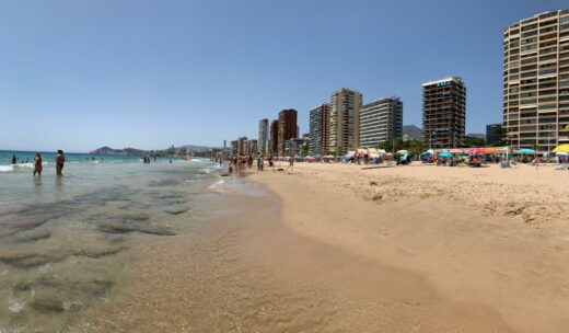 Top sandy beaches costa blanca