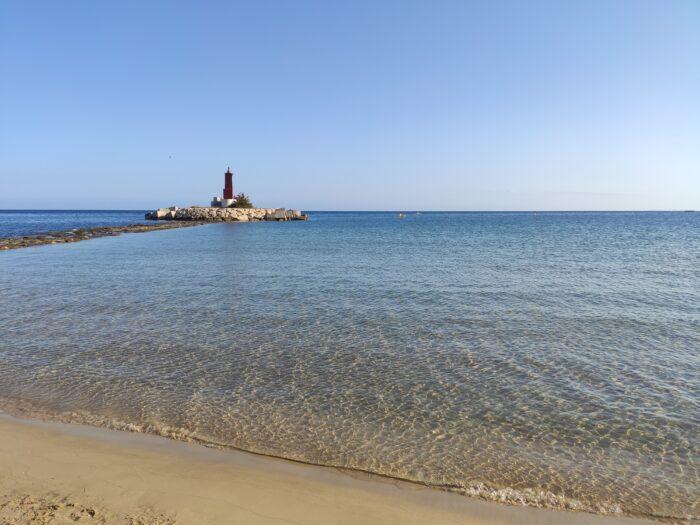The center beach