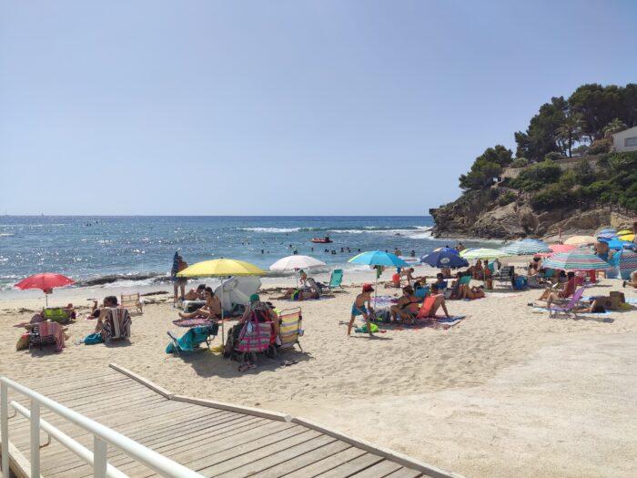 La Fustera beach