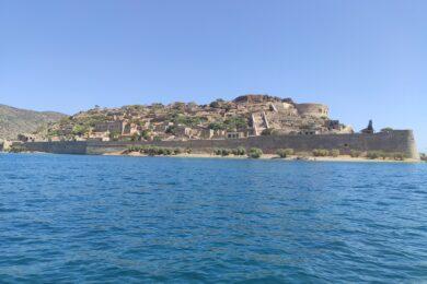 Spinalonga island